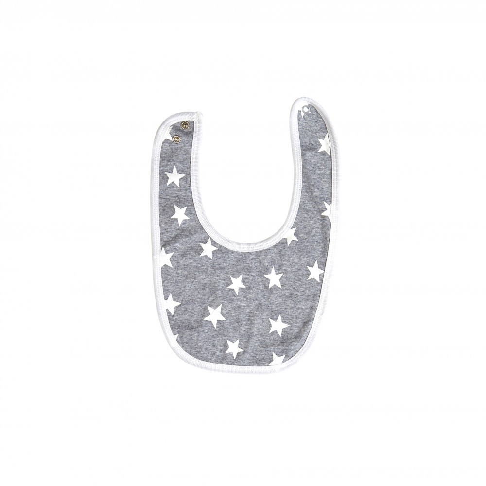 Grey Star Bib