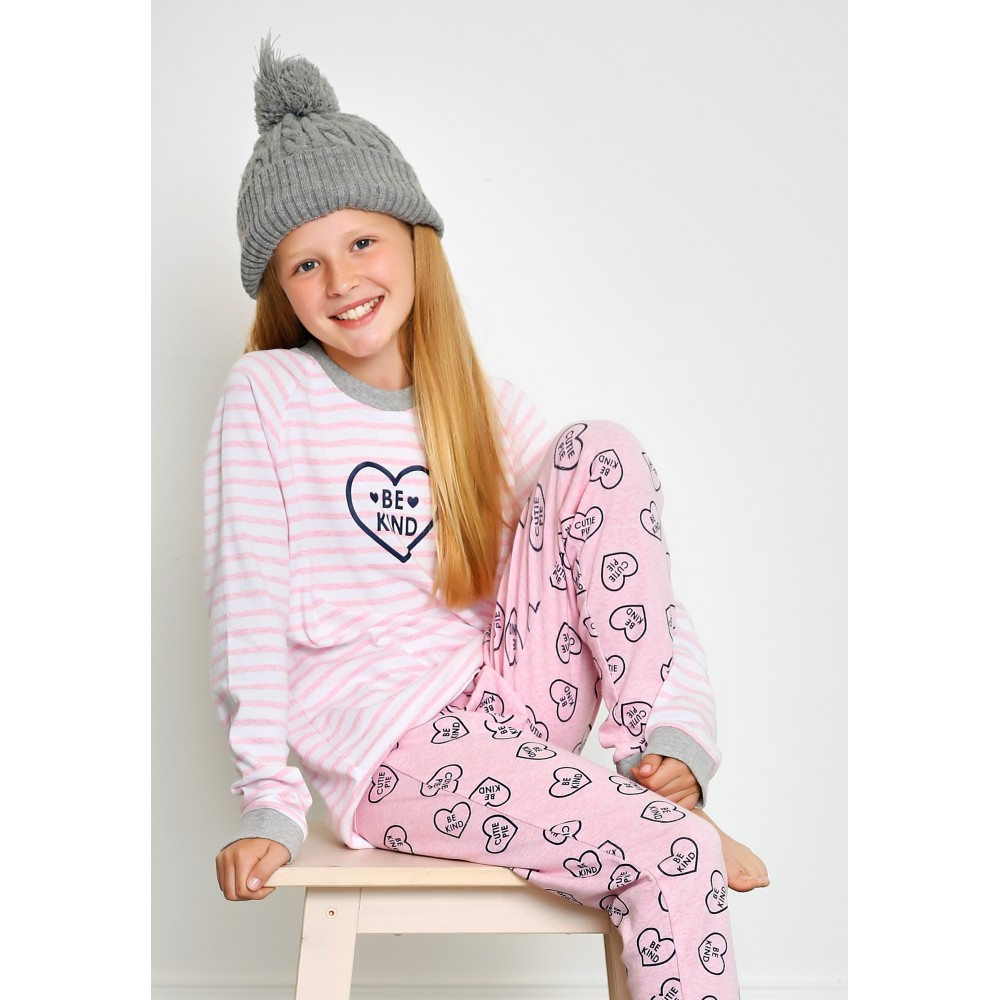 Pink Be Kind Teen PJ