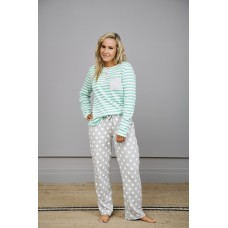 Green Stripe PJ