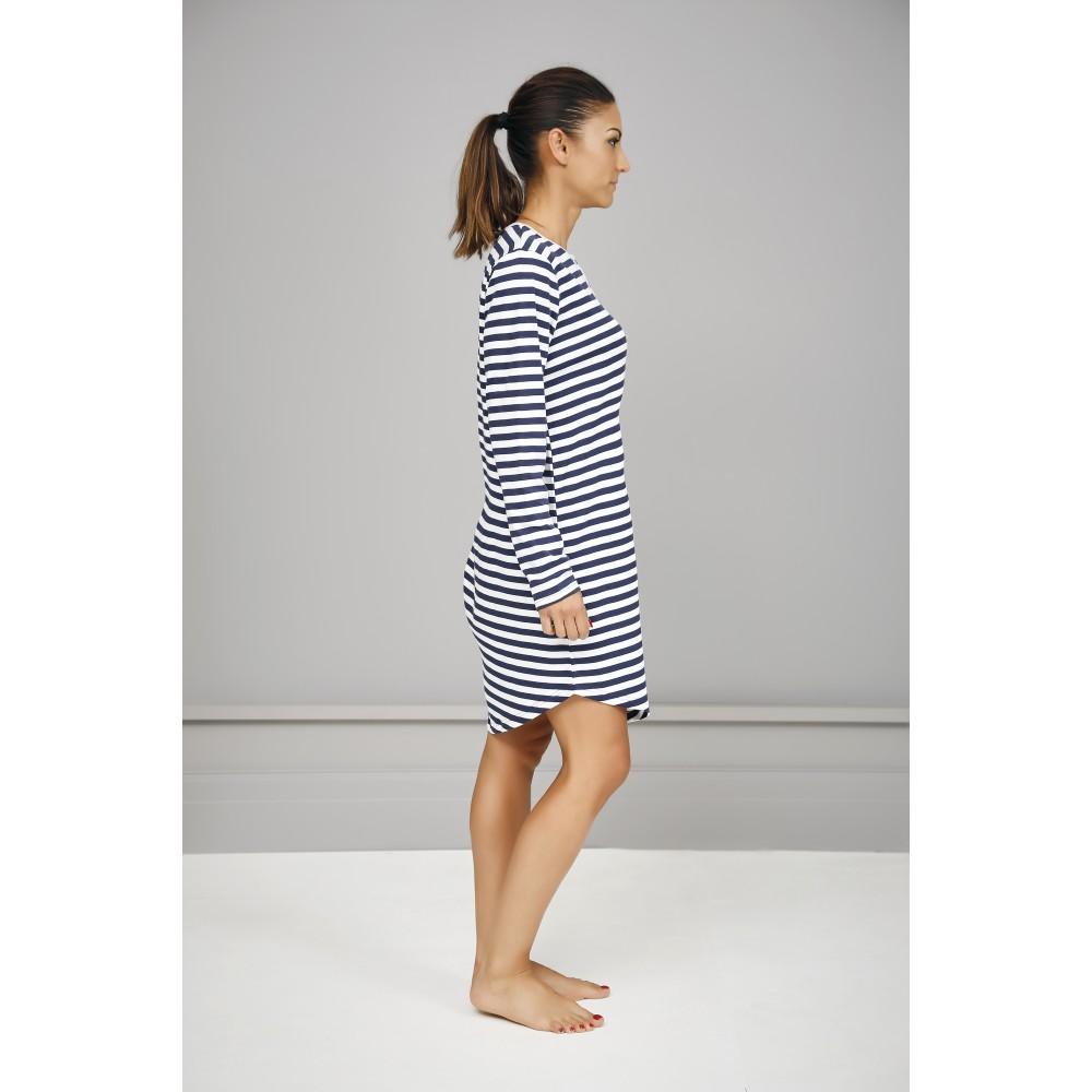 Navy Stripe Nightie