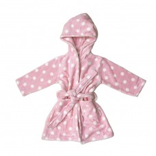 Pink Spot Dressing Gown