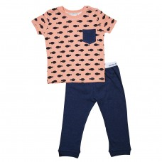 Coral Fish Long Pj