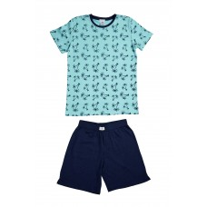Teal Palm Tree PJ