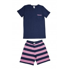 Plain Pink Pocket PJ