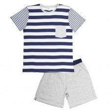Navy Stripe PJ