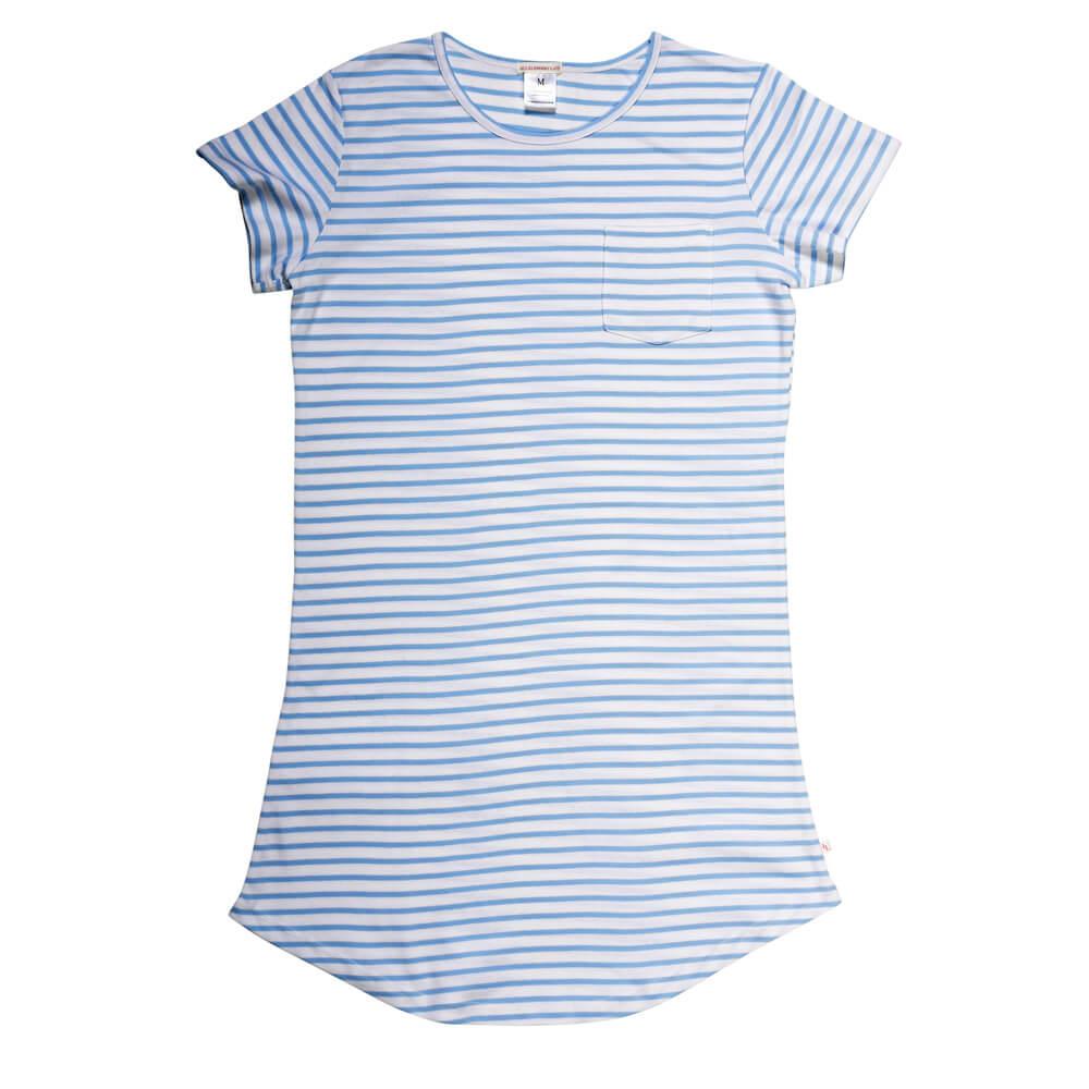 Women's Blue Stripe Nightie