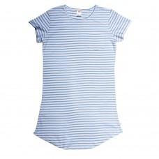 Women's Blue Stripe Nightie