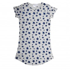 Womens Navy Star Nightie