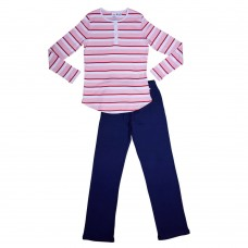 Womens Red Stripe PJ