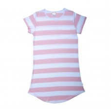 Women's Pink Stripe Nightie