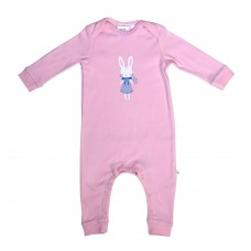 Pink Bunny Romper