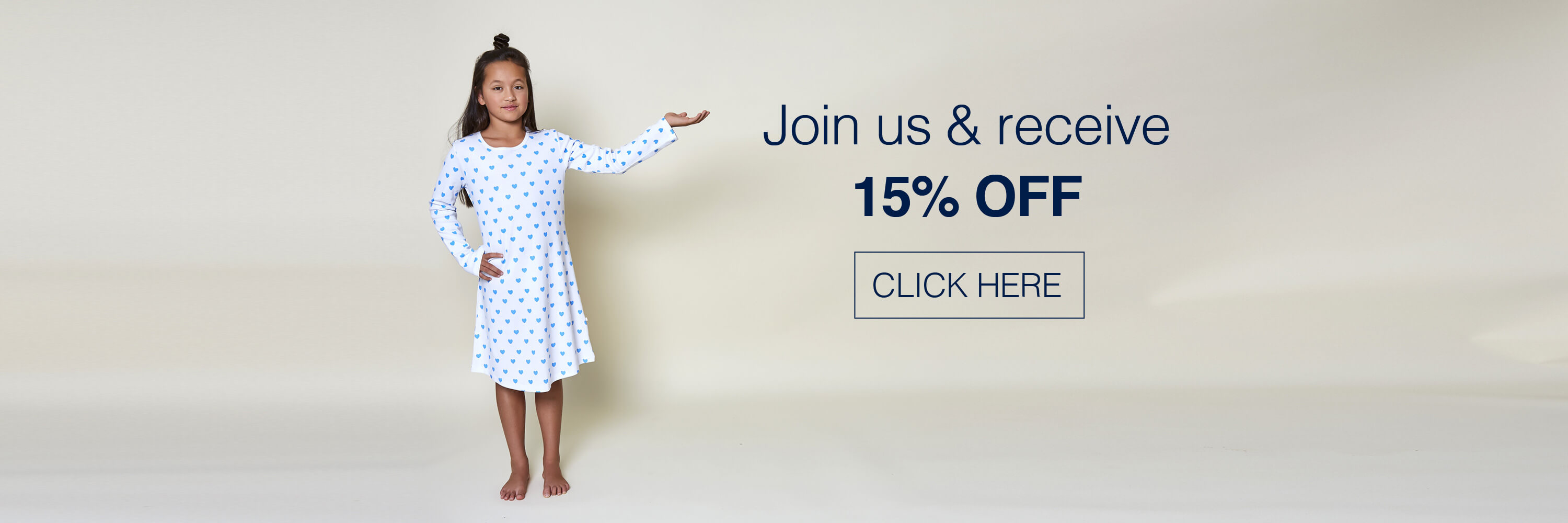 Join us to receive 15% OFF