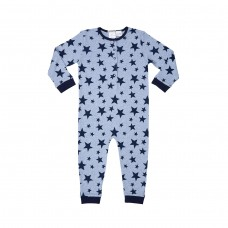 Boys Blue Star Onesie