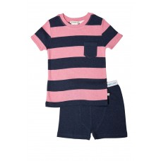 Pink Stripe Pocket PJ
