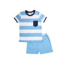 Sky Stripe Pocket PJ