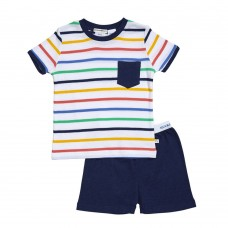 Multi Stripe Plain PJ