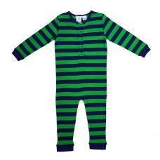 Green Striped Onesie Pj