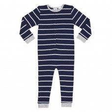 Blue Striped Onesie Pj