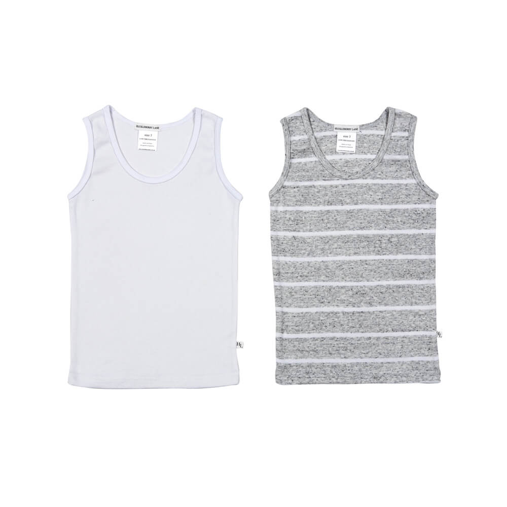 Boys 2 Pack Singlet Sets