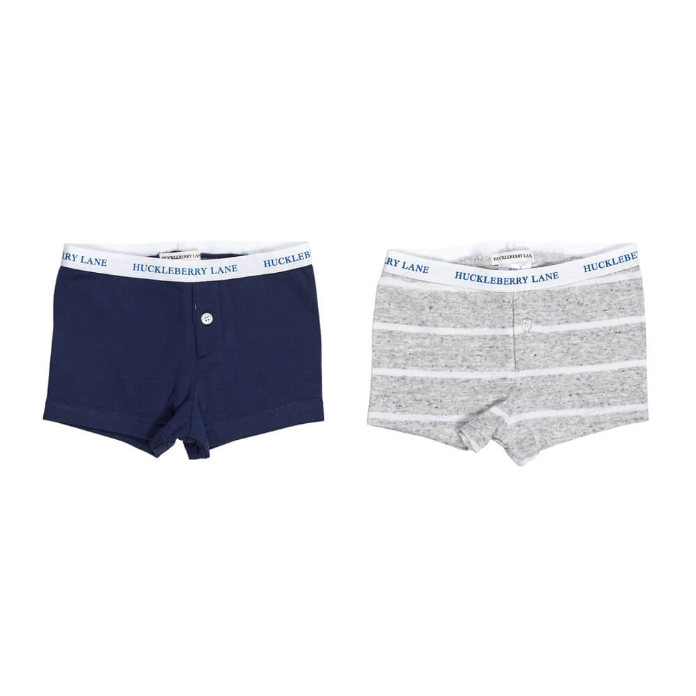 Boys 2 Pack Boxer Set