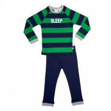 Green Stripe Sleep Pj