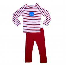 Red Stripe Cat Pj