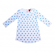 Blue Loveheart Nightie
