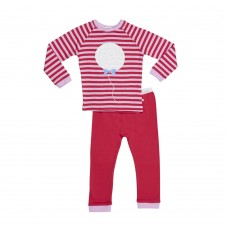 Red Stripe Balloon PJ