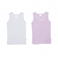 Girls Two Pack Singlet Set