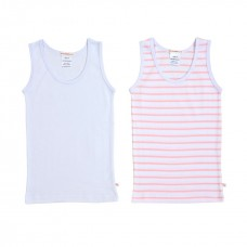 Girls 2 Pack Singlet Set