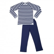 Men's Navy Striped PJ