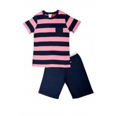 Pink Stripe Pocket SNR PJ
