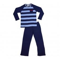 Plain Striped Pocket Teen Pj