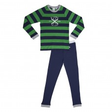 Green Stripe Ski SNR Pj