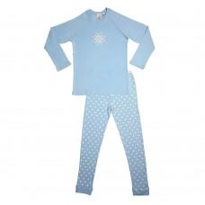 Blue Snowflake Teen PJ