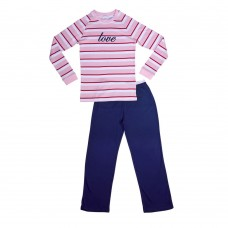 Striped Love Teen PJ
