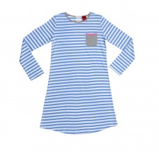Blue Stripe Nightie