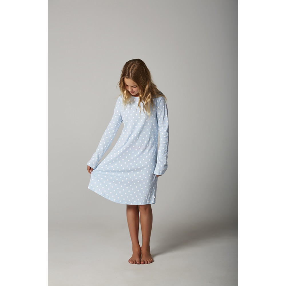 Blue Spot Teen Nightie