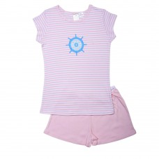 Pink Sailing Wheel Pj